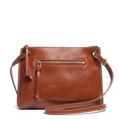 Edie Bag Norwegian Gold | Women's Leather Shoulder Bags | Roots