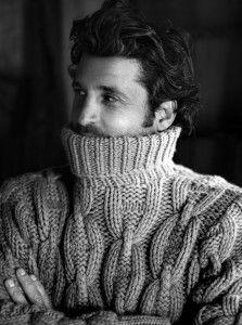 #PatrickDempsey - Hermes sweater