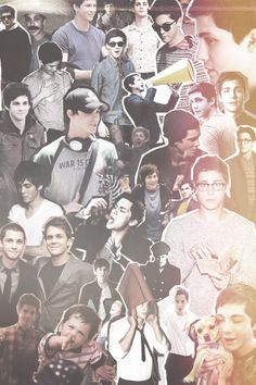 Logan Lerman Collage..I loveee it #mcm actually man crush everyday