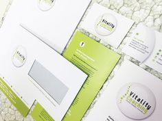 Vitality Coaching - Branding (logo, stationary, brochures ea)