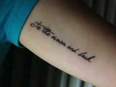 #tattoo #ink #words