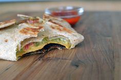 Vegetarian Taco Bell Crunch Wrap supreme recipe. This thing is THA BOMB! So good and vegan too!