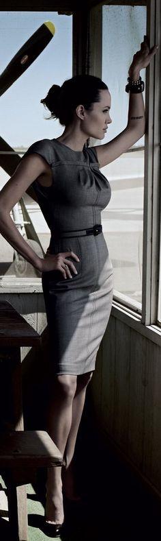 Angekina Jolie for Vogue