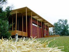S-House - Passivhaus - Straw-bale construction - Casas de palha