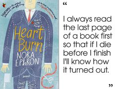 Heartburn by Nora Ephron | 46 Brilliant Short Novels You Can Read In A Day