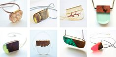 Designer Transforms Wood Fragments into Brilliant, One-of-a-Kind Accessories - My Modern Met