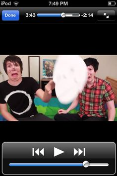 Danisnotonfire and AmazingPhil  haha I have no idea whats going on here!