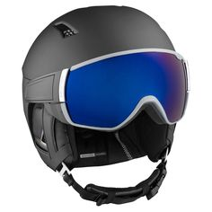 Salomon Driver+ HelmetThe new Salomon Helmet Driver+ is the perfect option for you to take your ski helmet style and performance to a new level. No need for a pair of goggles anymore, that's right, the new Driver+ helmet from Salomon includes the Motion Ski Gear, Snowboarding Gear, Bicycle Helmet, Bike, Ski Helmets, Mens Skis, Alpine Skiing, New Drivers, Apres Ski