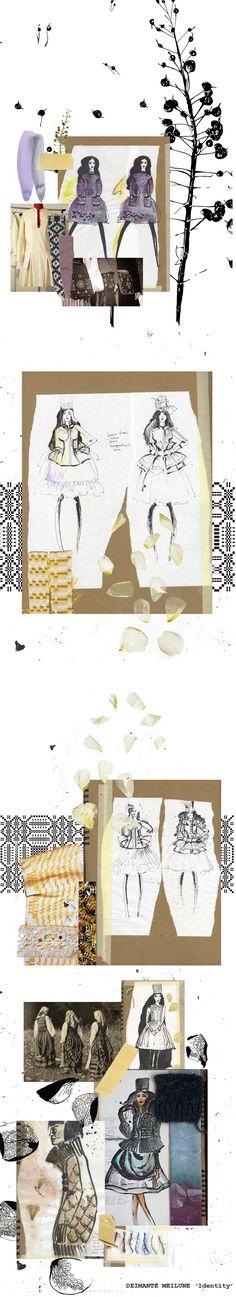 New fashion sketchbook layout mixed media ideas Fashion Illustration Portfolio, Fashion Design Sketchbook, Fashion Design Portfolio, Fashion Sketches, Fashion Drawings, Fashion Illustrations, Sketchbook Layout, Sketchbook Drawings, Sketchbook Inspiration