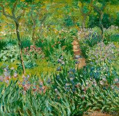 Claude Monet - Giverny, Le Printemps (Spring, Giverny)