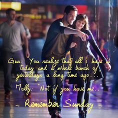 Remember Sunday. This movie makes me cry every single time! Such an amazing and touching movie!