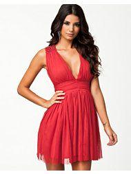 JEANE BLUSH Sofi Beading Dress