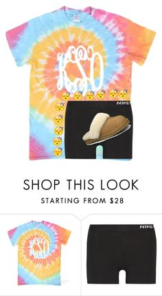 """"""""""" by evedriggers ❤ liked on Polyvore featuring NIKE and UGG Australia"""