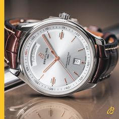 Discover the Breitling Premier Automatic 40 in a combination of Steel, Silver and Black Croco. Find out more online. Big Watches, Best Watches For Men, Luxury Watches For Men, Sport Watches, Cool Watches, Unusual Watches, Breitling Watches, Swiss Army Watches, Beautiful Watches