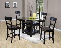 27 Best black kitchen table images | Table, Home decor ...