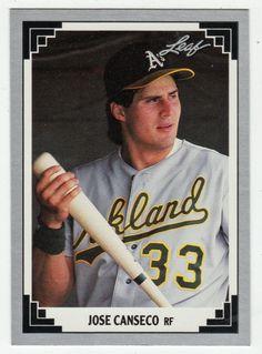 Jose Canseco # 182 - 1991 Leaf Baseball