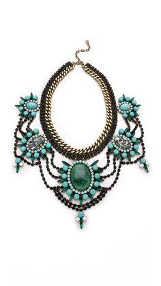 Bib necklace explosion. Amazing!