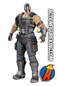 Massive Batman: Arkham Origins Series 01 - Bane Action Figure. #batmanarkhamorigins #dccollectibles #bane #actionfigure