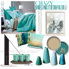 Crazy Beautiful by clotheshawg on Polyvore featuring polyvore interior interiors interior design home home decor interior decorating John-Richard Dot & Bo LINLEY Boeme