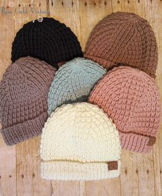 f1a505fba9c Chunky Knit CC Beanies – Rose Gold Vintage Pom Pom Beanie Hat