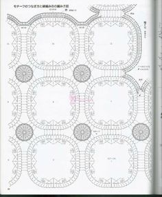 crochelinhasagulhas: Blusa em square de crochê
