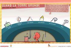 Animation à partir de 10 ans.   Tout savoir sur la terre : des séismes aux volcans, en passant par les tsunamis...