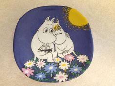 Arabia Finland Moomin Characters Moonshine Wall Plate | eBay