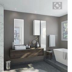 Meuble bas l.135 x H.32 x P.48 cm, blanc, Neo frame   Inspiration ...