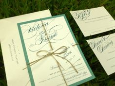 Charmante Wedding Suite  SAMPLE by dhfitzgeralddesigns on Etsy, $3.00