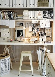 Creative Space...white with white...love....
