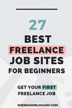 Are you looking for a freelance job? This post includes 21 best freelance job sites for beginners who want to make money from home. Start A Business From Home, Work From Home Moms, Fun To Be One, How To Find Out, Amazon Jobs, Good Paying Jobs, Best Online Jobs, Freelance Writing Jobs, Freelance Sites