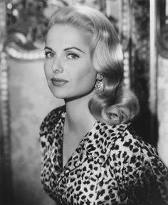 Martha Hyer leopard