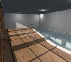 piscina interrata coperta privata- private covered swimming pool