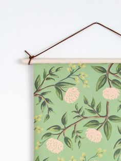 DIY Wall Hanging - Botanical Chart from Francois et Moi