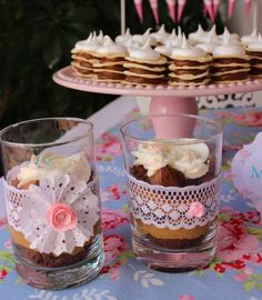 Shabby chic Baptism Party Ideas | Photo 1 of 19