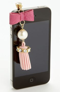 Cara Accessories 'Tassel' Smart Phone Charm available at #Nordstrom  $28