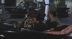 The 1961 Cadillac Fleetwood 75 with red interior as seen in the 1963 film The Thrill Of It All...