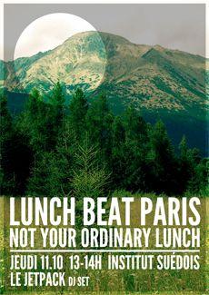 Lunc Beat, lunch dancing, swedish Institute, Paris
