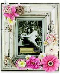 Add romance to any room with a frame that's lovingly embellished by you!