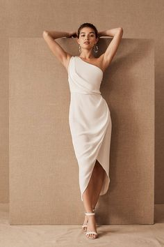 Significant Other Agnes Dress by in White Size: Women& Dresses at Anthr. Significant Other Agnes Dress by in White Size: Women& Dresses at Anthropologie Elegant Dresses For Women, Nice Dresses, Elegant White Dress, Dresses Dresses, Wedding Dresses For Petite Women, Summer Dresses, Bhldn Dresses, Formal Dresses, Civil Wedding Dresses
