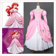 Disney Princess Ariel dress Movie costume cosplay tailor-made [G656]   eBay