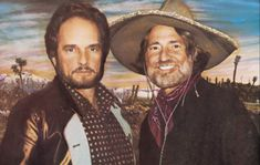 """THE STORY BEHIND WILLIE NELSON & MERLE HAGGARD'S """"PANCHO AND LEFTY"""" Country Music Stars, Country Music Singers, 80s Country, Country Musicians, Country Artists, Country Roads, Folk Music, Art Music, Music Artists"""