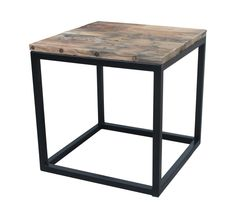 Coffee table in steel and oak by Muubs