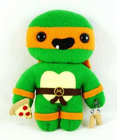 by Sew Nerdy on Flickr Teen Age Mutant Ninja Turtle