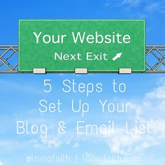 5 Steps to Set Up Your Blog & Email List