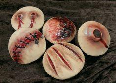 Macabre Cupcakes #halloween #food #horror