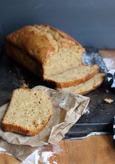 A basic quick bread recipe for sweet or savory quick breads. Customize it any way you want.