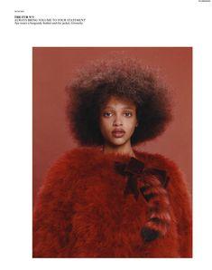 'Obsessions' by Harley Weir for Self Service No.43 FW 2015 | model: Aya Jones