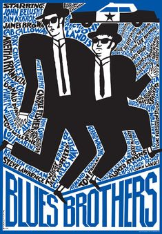 Lo hermanos caradura del director John Landis (1980).