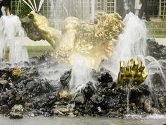 Fountain, Chateau de Versailles, outside Paris.